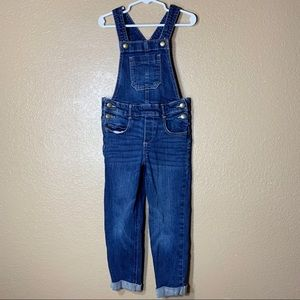 Old Navy toddler girl jean overalls
